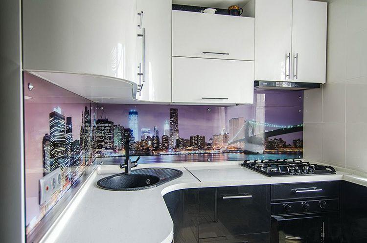 Фото дизайна маленькой кухни 6 м²