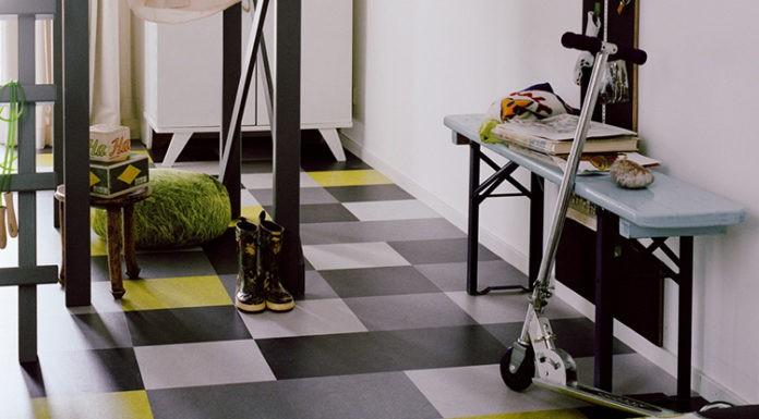 💡Натуральный мармолеум – новое решение напольного покрытия и интересное решение в дизайне