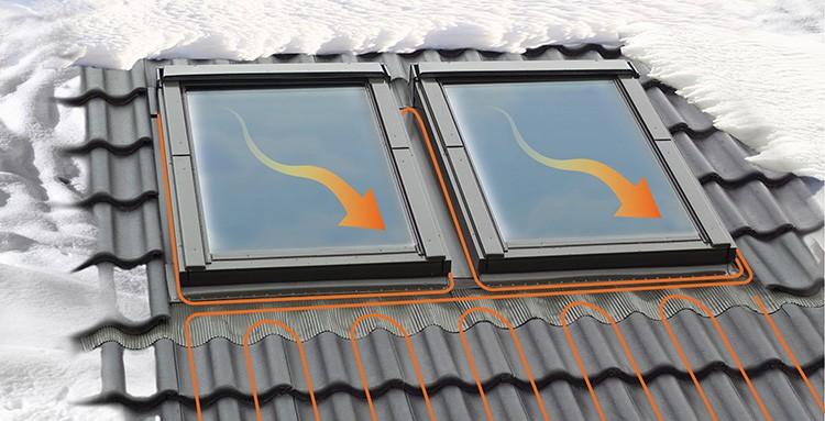 На тёплых окнах мансарды никогда не скопится снег – в комнате всегда будет естественное освещение