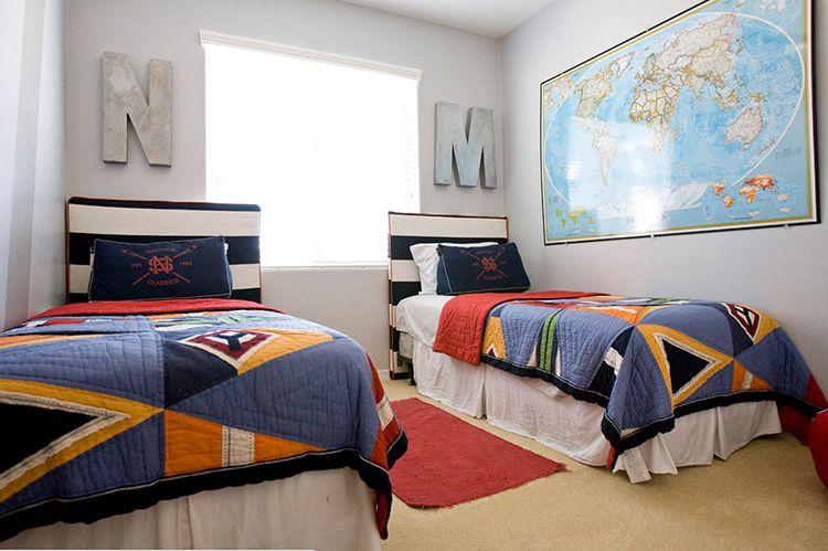 Самый лучший вариант – две отдельно стоящие кровати