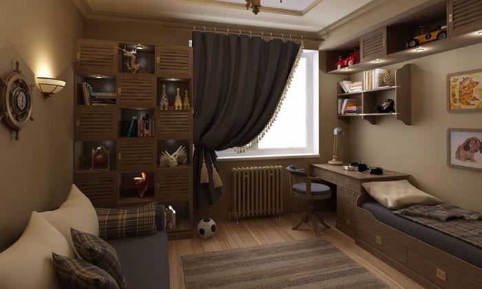 Как грамотно обустроить детскую комнату для двух мальчиков, чтобы детям было комфортно