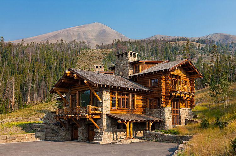 Дома из рубленого бревна – самые долговечные из всех деревянных