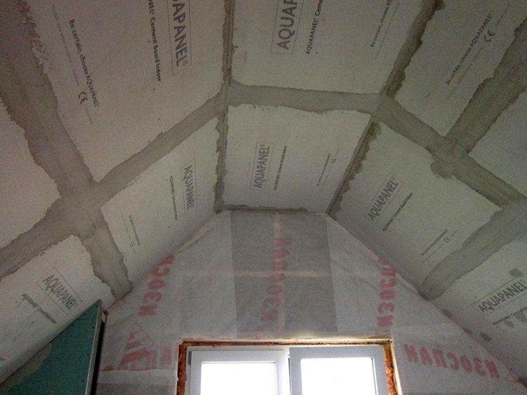 В результате вы получите устойчивый к влажности потолок в кухне или ванной комнате. Его можно просто покрасить или отделать любым другим удобным для вас способом