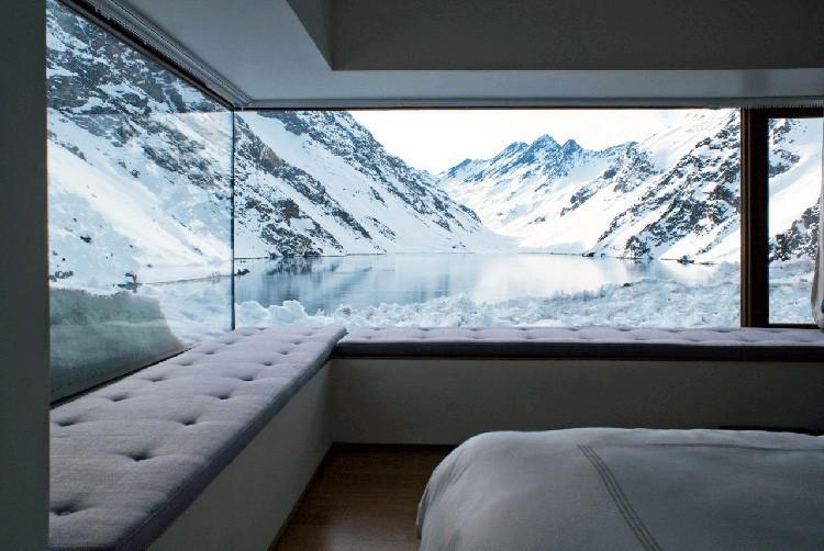 Тёплые стёкла абсолютно прозрачны