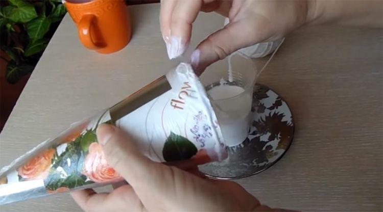 Клеевой состав наносится непосредственно в процессе наматывания