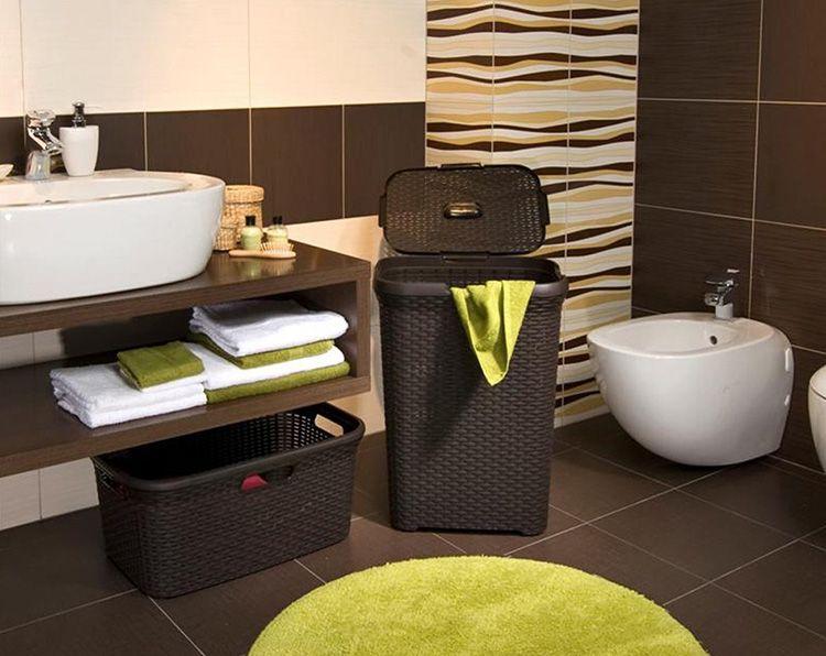 Для хранения вещей можно подобрать ёмкость оптимального размера и конфигурации