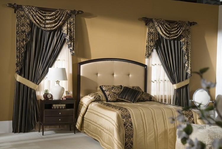 Красивые шторы - визитная карточка любого помещения, особенно спальни
