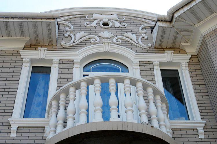 Для красивого оформления фасада не требуется много средств