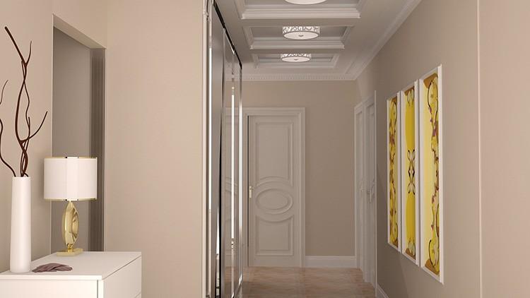 Правильно подобранная расцветка изменит объёмы помещения