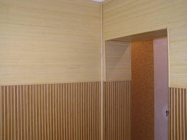 бамбуковые панели в прихожей фото жизнь