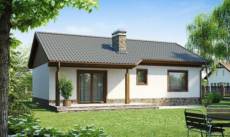 В среднем, строительство такого небольшого дома из газобетона обходится заказчику примерно в 470-550 тысяч рублей с учетом стоимости документации, стройматериалов и работ