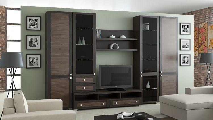 Мебельная композиция – важная часть интерьера и функциональная система хранения
