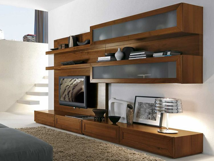 Хорошо смотрятся контрастные варианты, например, светлая мебель на фоне тёмных стен и наоборот