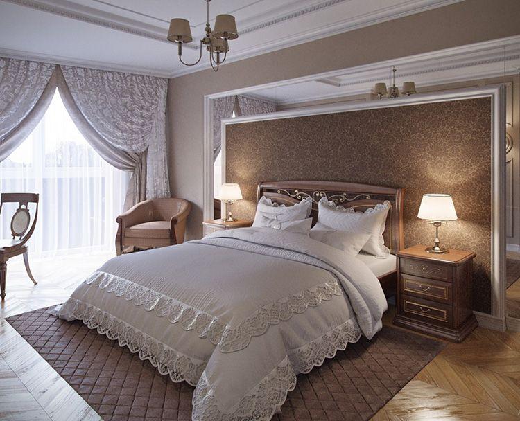 теме спальня в стиле неоклассика фото интерьер выдаче
