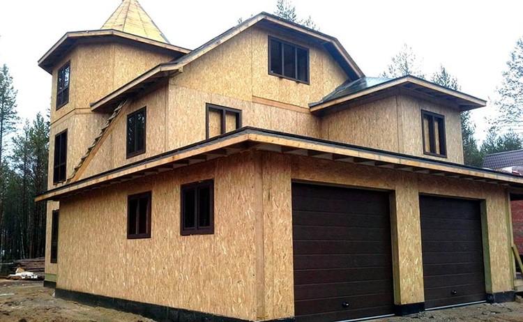 Технология позволяет возвести строение любой конфигурации