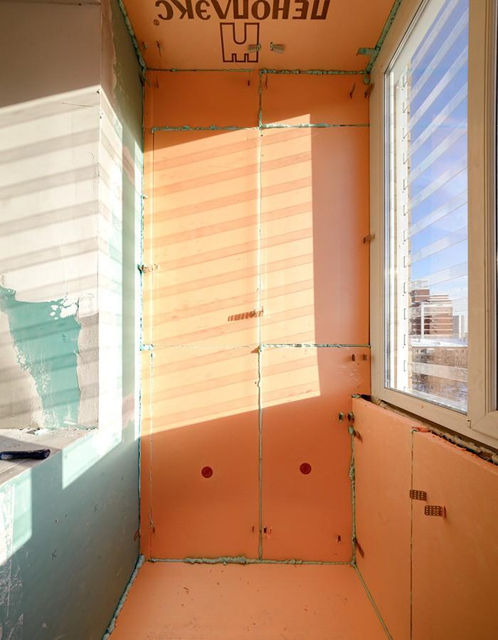 👷 Утепление лоджии (балкона): теория в практике