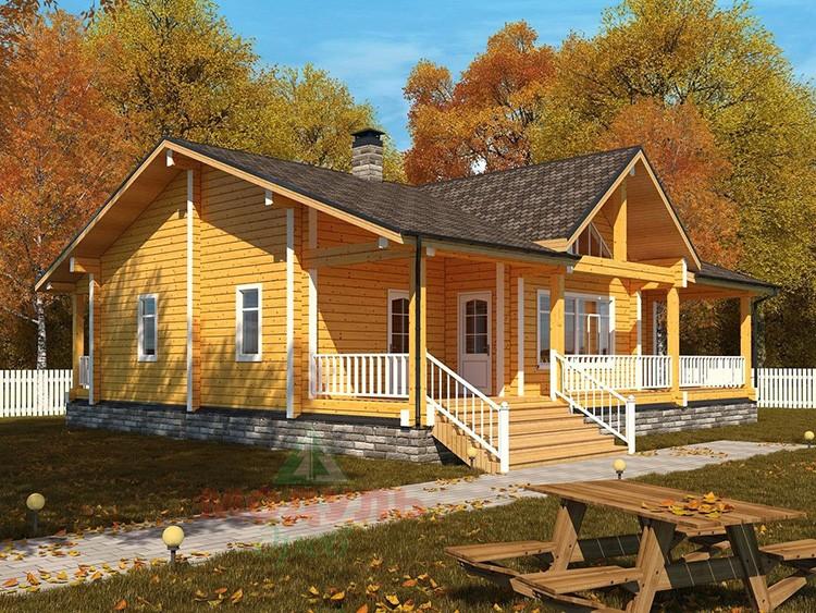 Брусовый дом – идеальное решение для тех, кто хочет построить комфортное жильё