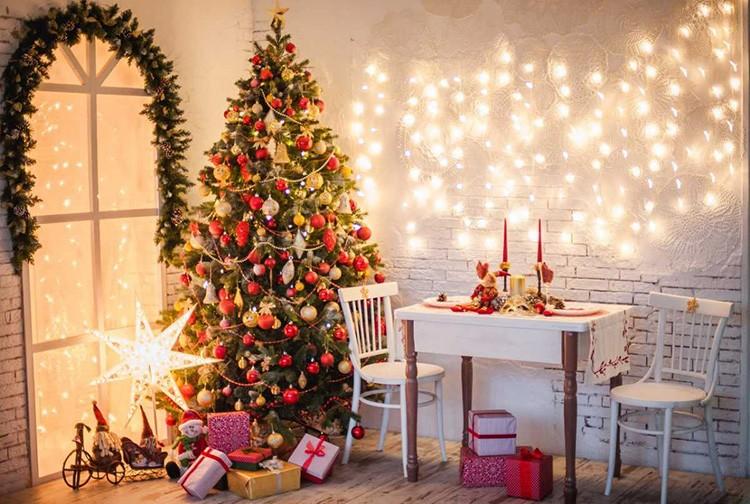 🎄 Восхитительные идеи и решения: как можно украсить комнату на Новый год