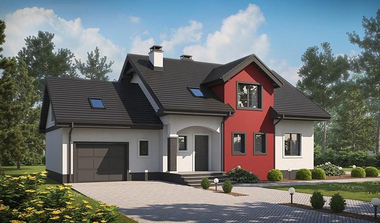 Дом с гаражом – мечта каждого автолюбителя