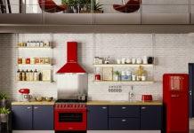 5 идей расстановки техники для больших и маленьких кухонь