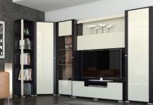 Как выбрать стенку для гостиной со шкафом для одежды: виды, используемые материалы и на что обратить внимание при покупке