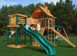 Детская площадка для дачи: от сказочного домика до волшебных качелей