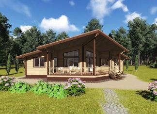 Тёплое, доступное и комфортное жильё: строим одноэтажный дом из бруса