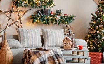 Восхитительные идеи и решения: как можно украсить комнату на Новый год