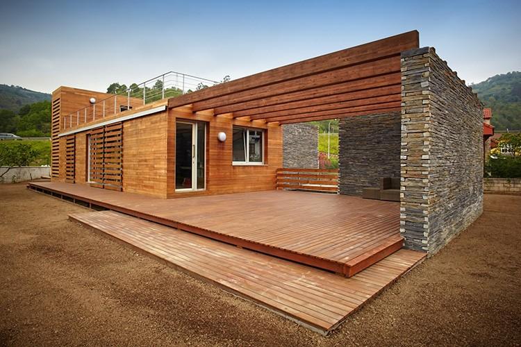 Конфигурация дома может отличаться от классической