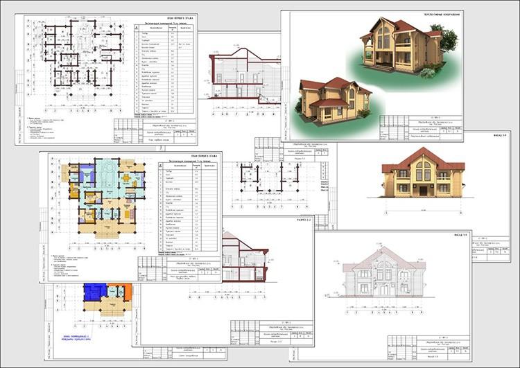 Проект включает документы, необходимые для строительства