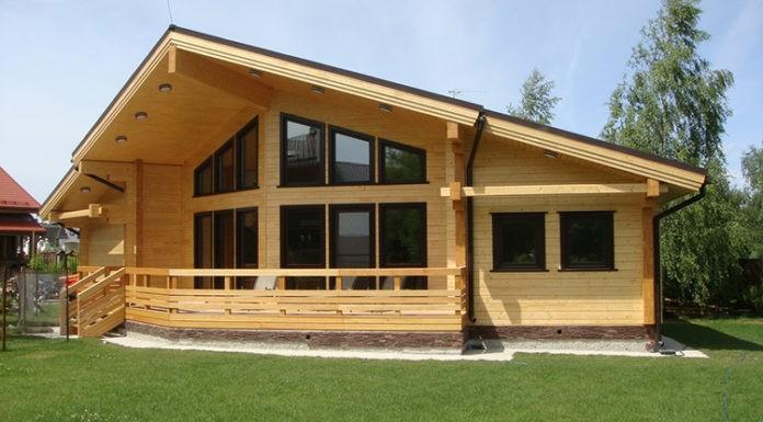 Конфигурация и площадь одноэтажного строения может существенно отличаться