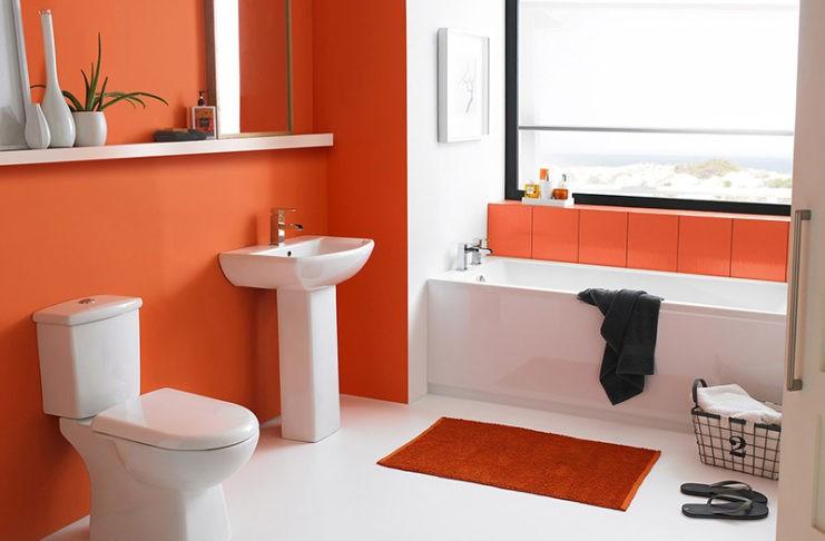 Долой плитку! Альтернативные варианты отделки ванной комнаты.