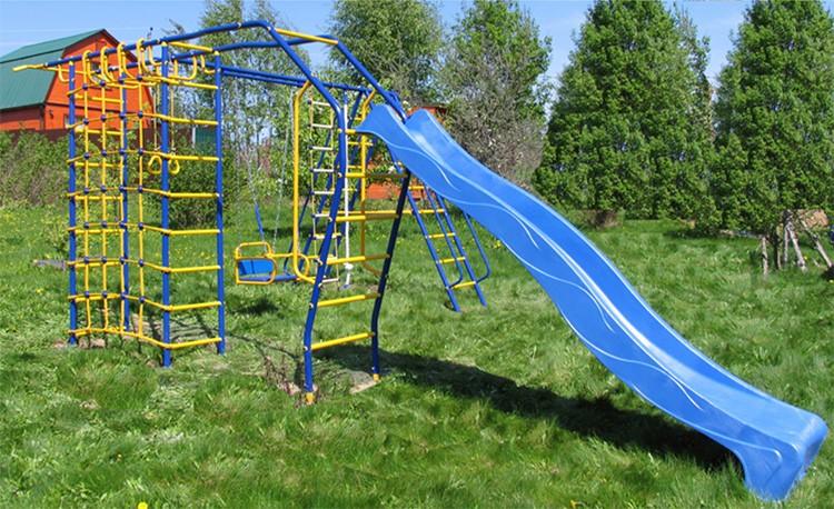 🎡 Детская площадка для дачи: неожиданные решения