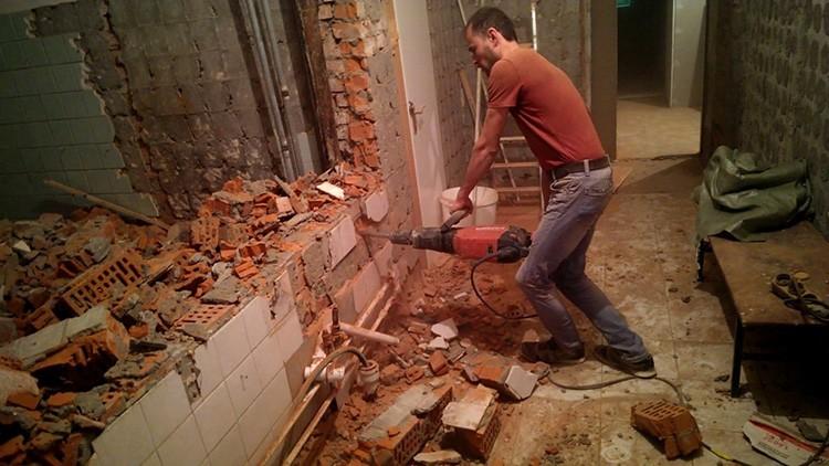 При перепланировке разрешён демонтаж только межкомнатных стен