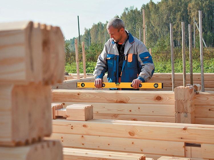 Вид используемого материала оказывает влияние на технологию строительства