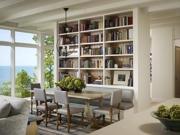  Книжные шкафы и библиотеки для дома: секреты правильной организации пространства