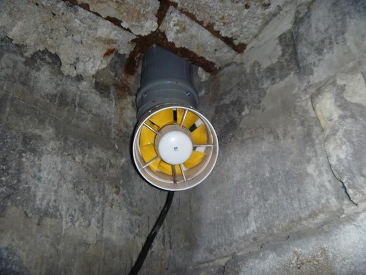Специальный вентилятор обеспечивает своевременный отвод воздушных масс