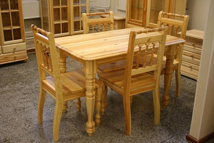 Модель из твёрдой древесины