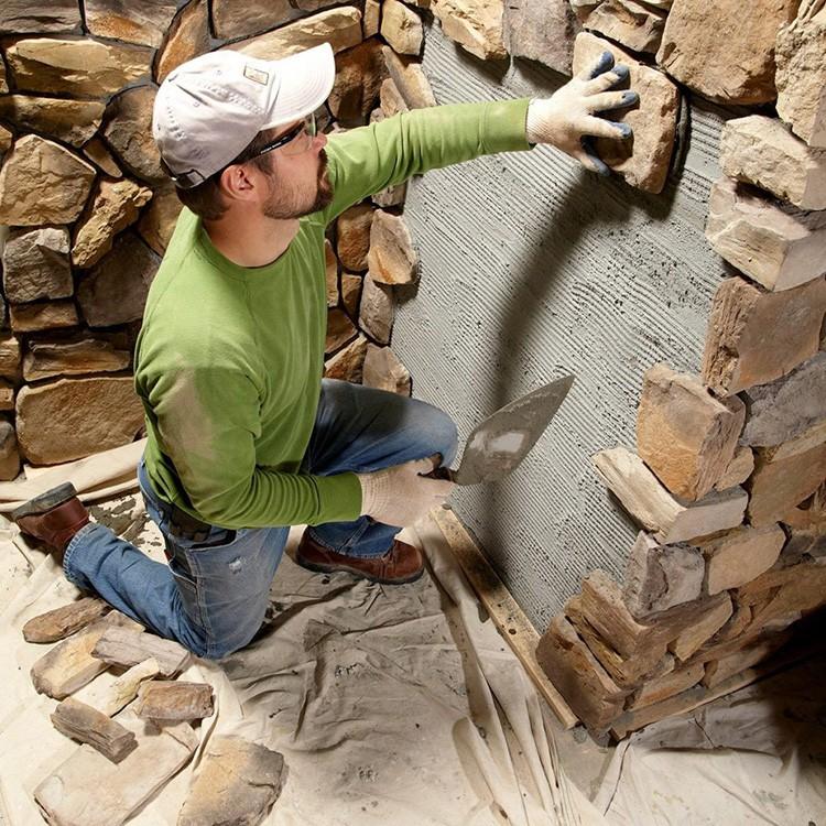 Стена должна быть загрунтована