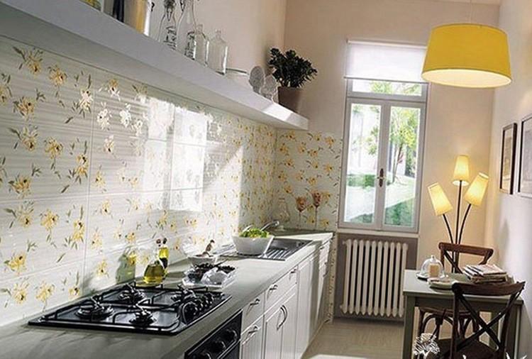 Кухонный фартук поможет защитить стены от влаги и загрязнений