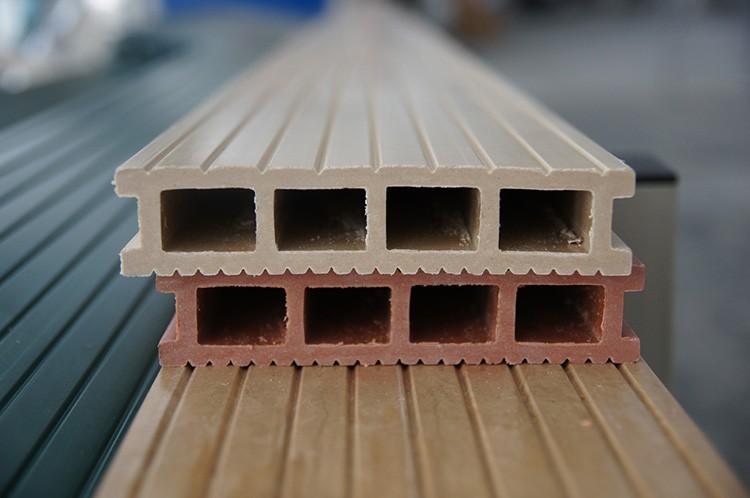 Использование древесины в паре с полимером дает прочный и высококачественный материал
