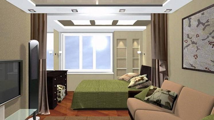 📏 Зонирование комнаты на спальню и гостиную: эффективные приёмы