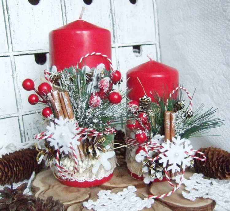 Декор свечей — занятие очень увлекательное и даже романтичное.