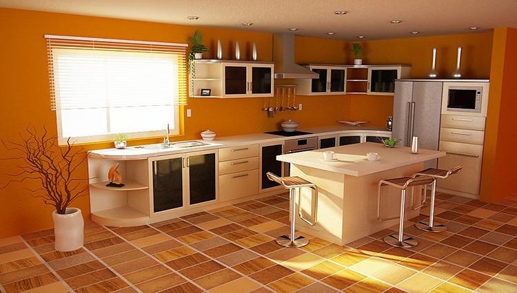 В качестве напольного покрытия лучше всего использовать прочную керамогранитную плитку