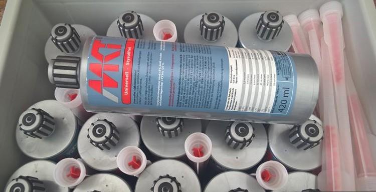 Химические анкеры МКТ используют для монтажа не только в бетоне, но и в натуральном камне