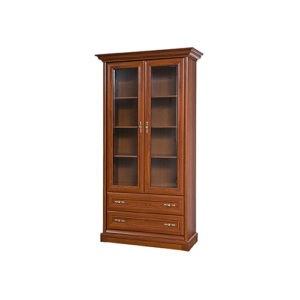 Кантри шкаф 2Д (430) Ск каштан («Союз-Мебель»)