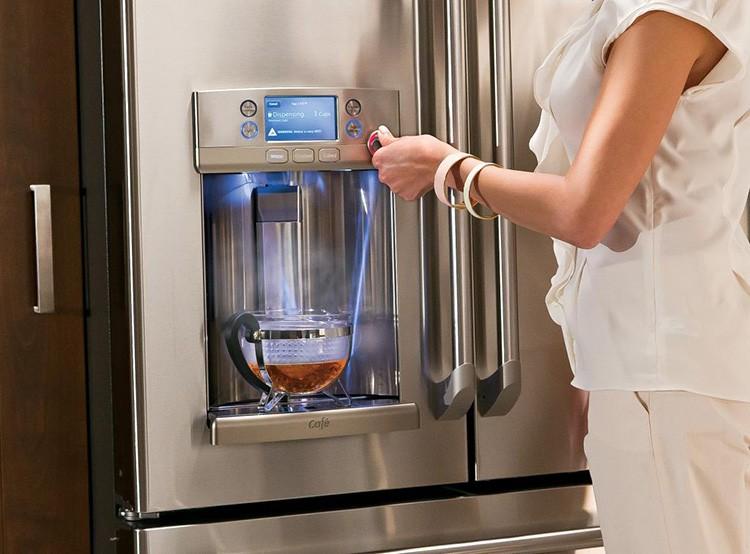 Бесценное удовольствие – в жаркий день набрать стаканчик прохладной воды или чая, не открывая холодильник