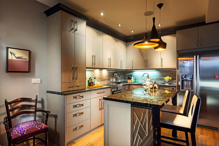 Тщательно продумывайте систему освещения на кухне