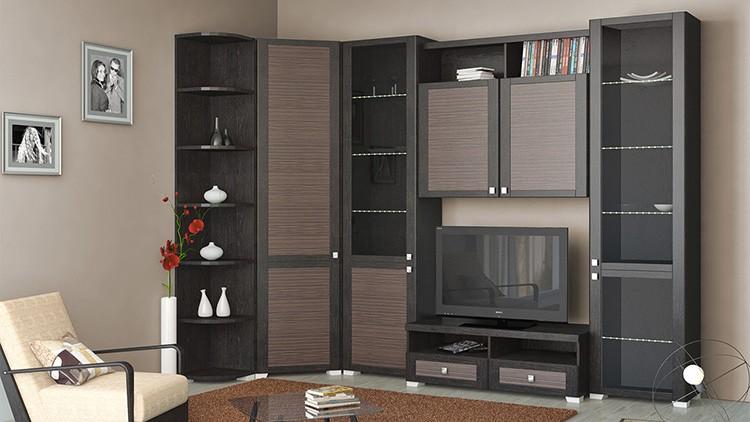 👗 Как выбрать стенку для гостиной со шкафом для одежды и на что обратить внимание при покупке