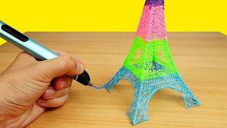 Идеальных форм с помощью подобной ручки добиться трудно, но простые фигуры вполне возможно нарисовать